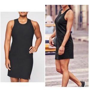 NWT Athleta Whirlwind Tank Black Dress Small